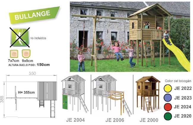 parques infantiles bullange