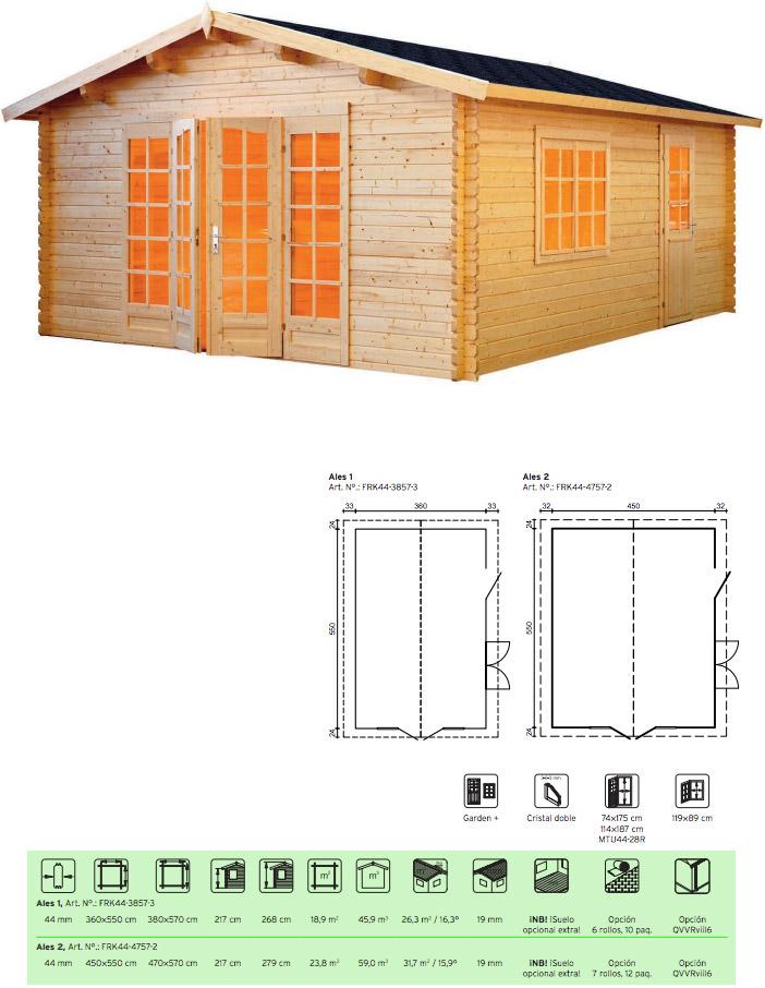 caseta de jardin economicas ales