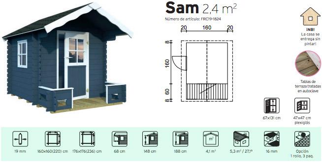 Kit casita infantil de jardin imagui for Casitas de madera para jardin para ninos