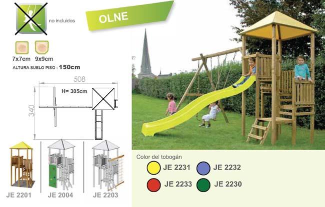 parques torre infantiles olne