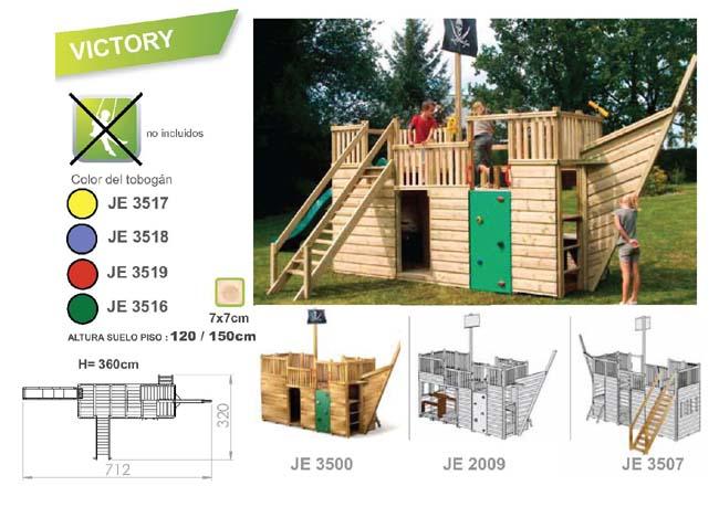 parques infantiles victory